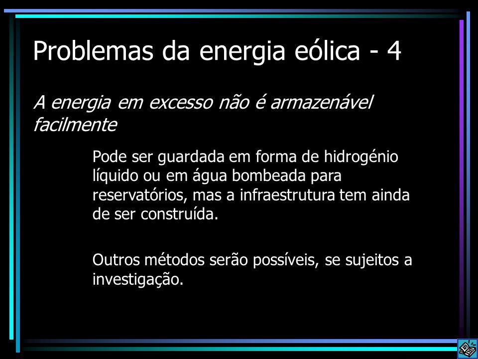 Problemas da energia eólica - 4