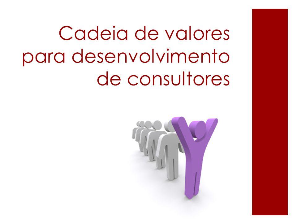 Cadeia de valores para desenvolvimento de consultores