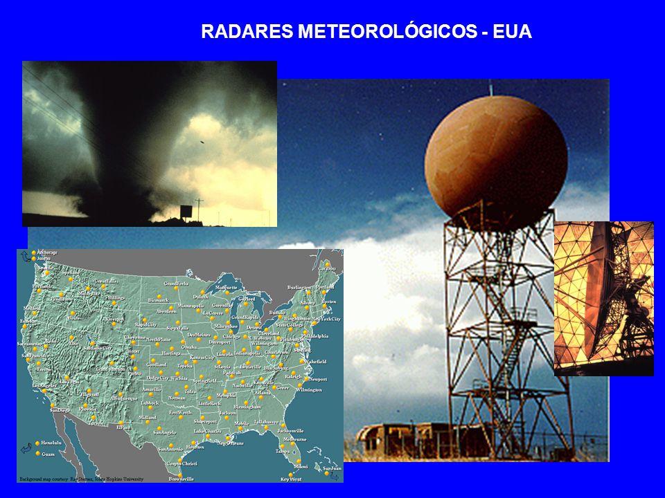 RADARES METEOROLÓGICOS - EUA