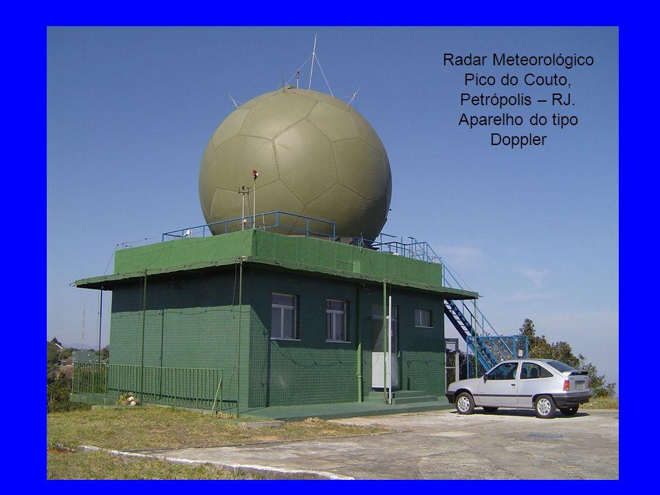 Radar Meteorológico Pico do Couto, Petrópolis – RJ