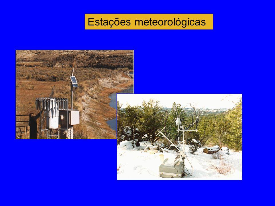 Estações meteorológicas