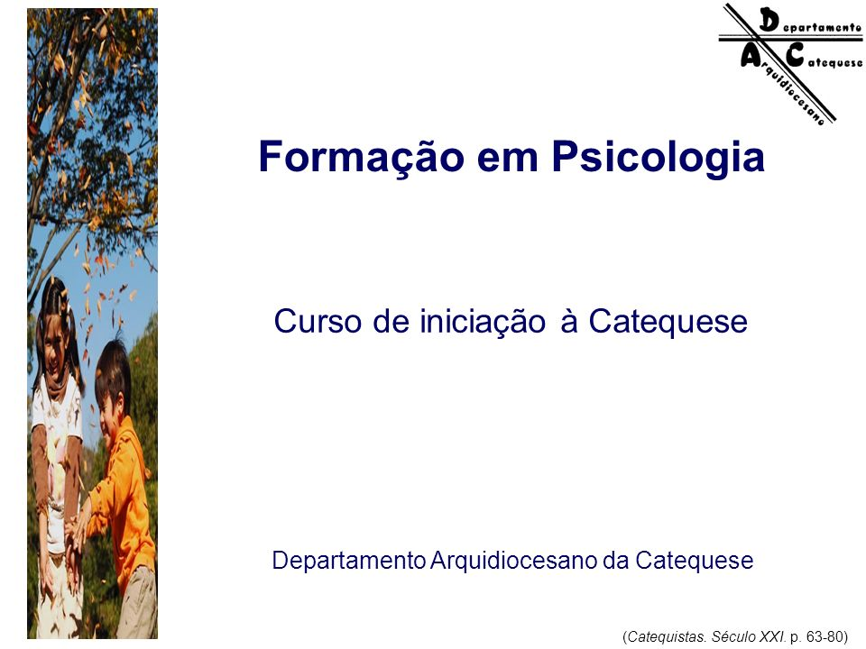 Formação em Psicologia