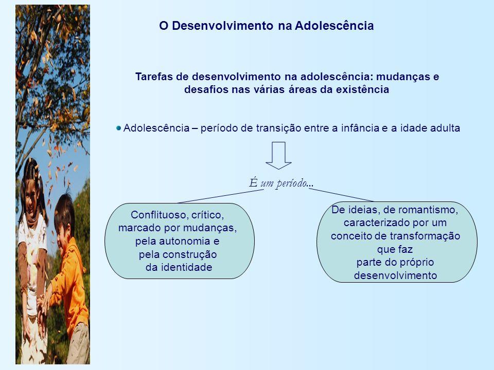 O Desenvolvimento na Adolescência