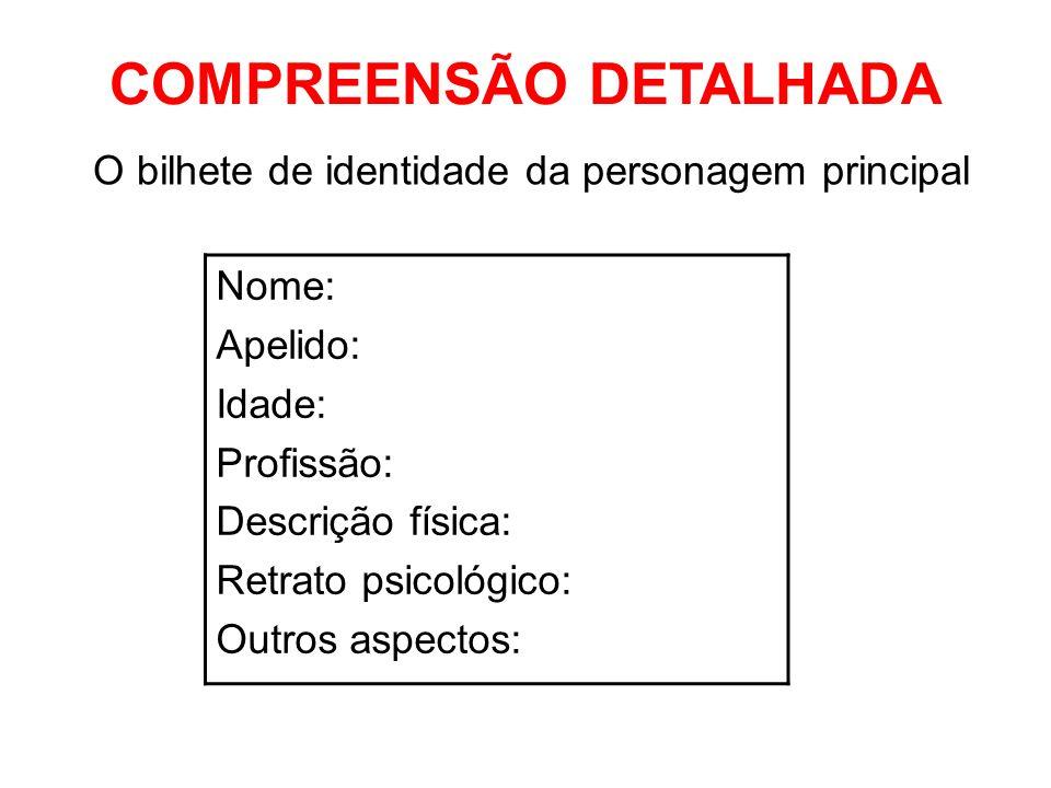 COMPREENSÃO DETALHADA