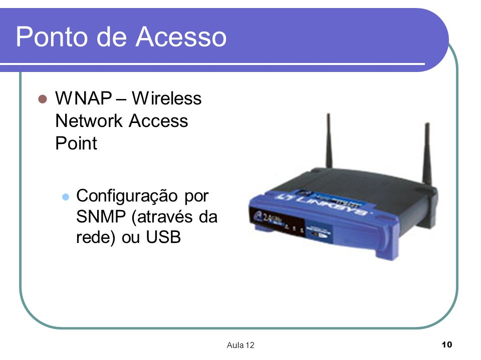 Ponto de Acesso WNAP – Wireless Network Access Point