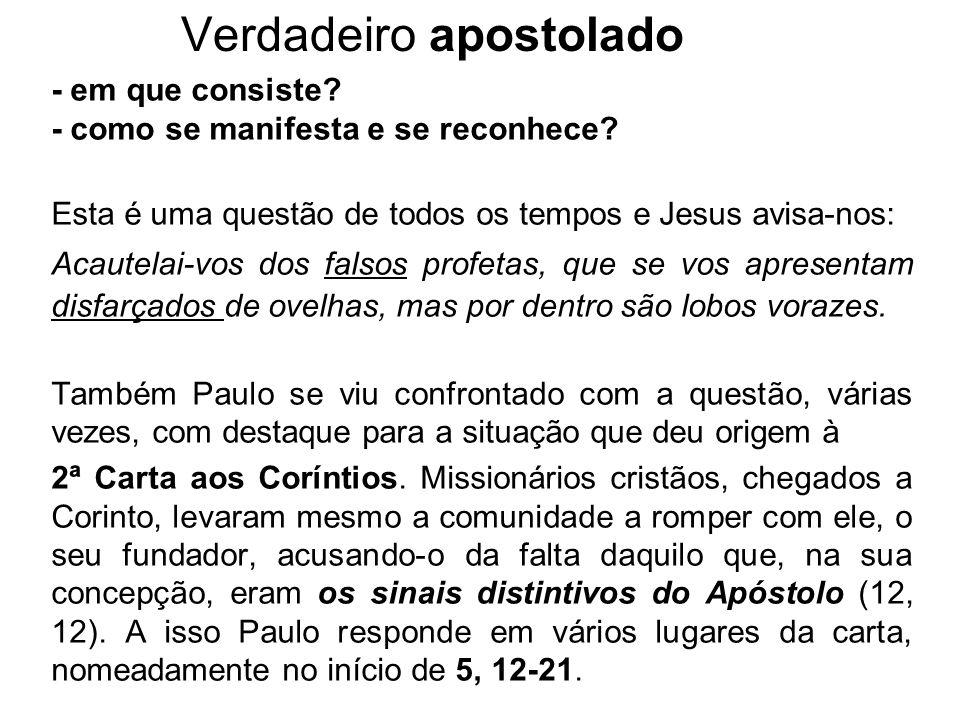 Verdadeiro apostolado