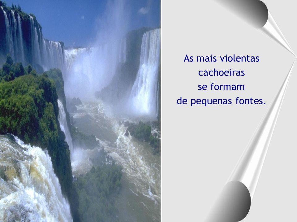 As mais violentas cachoeiras