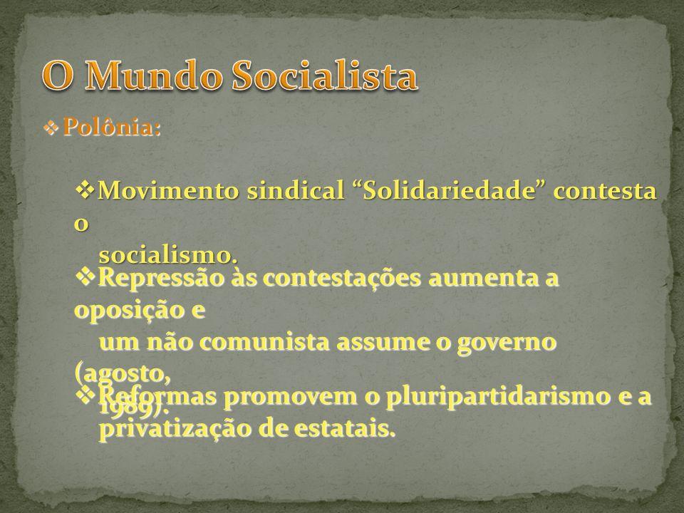 O Mundo Socialista Movimento sindical Solidariedade contesta o