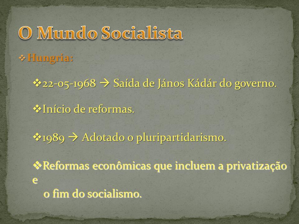 O Mundo Socialista 22-05-1968  Saída de János Kádár do governo.