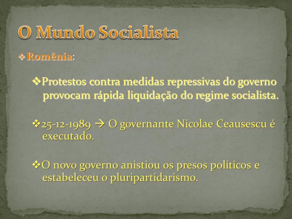 O Mundo Socialista Protestos contra medidas repressivas do governo