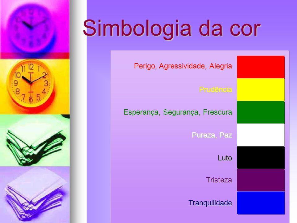 Simbologia da cor Perigo, Agressividade, Alegria Prudência