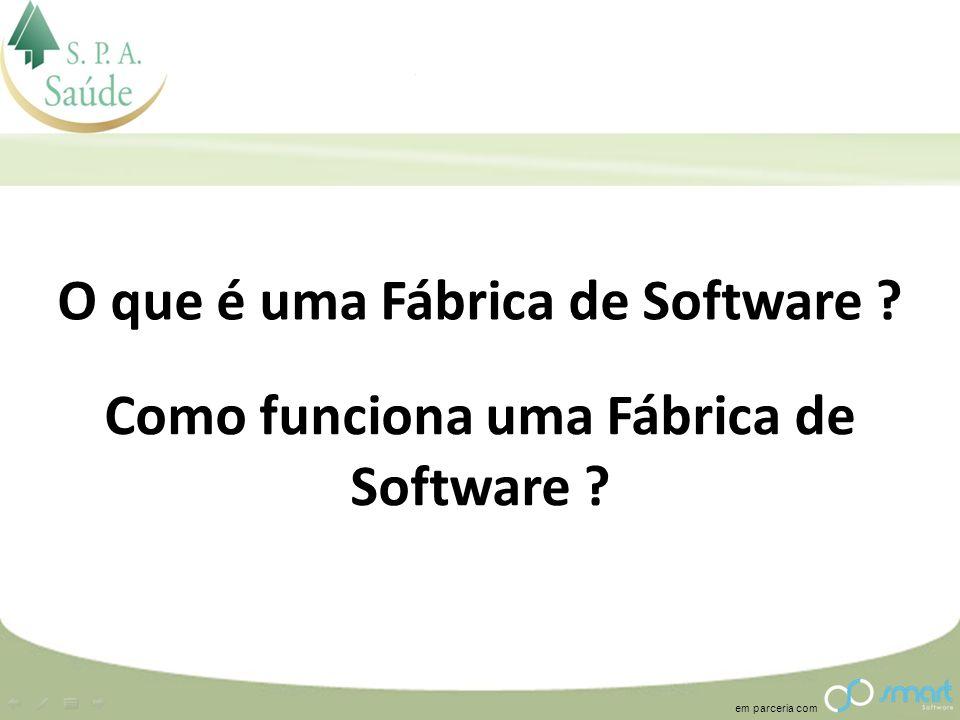 O que é uma Fábrica de Software