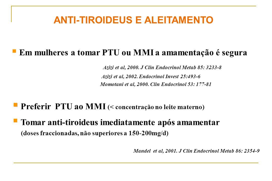 ANTI-TIROIDEUS E ALEITAMENTO
