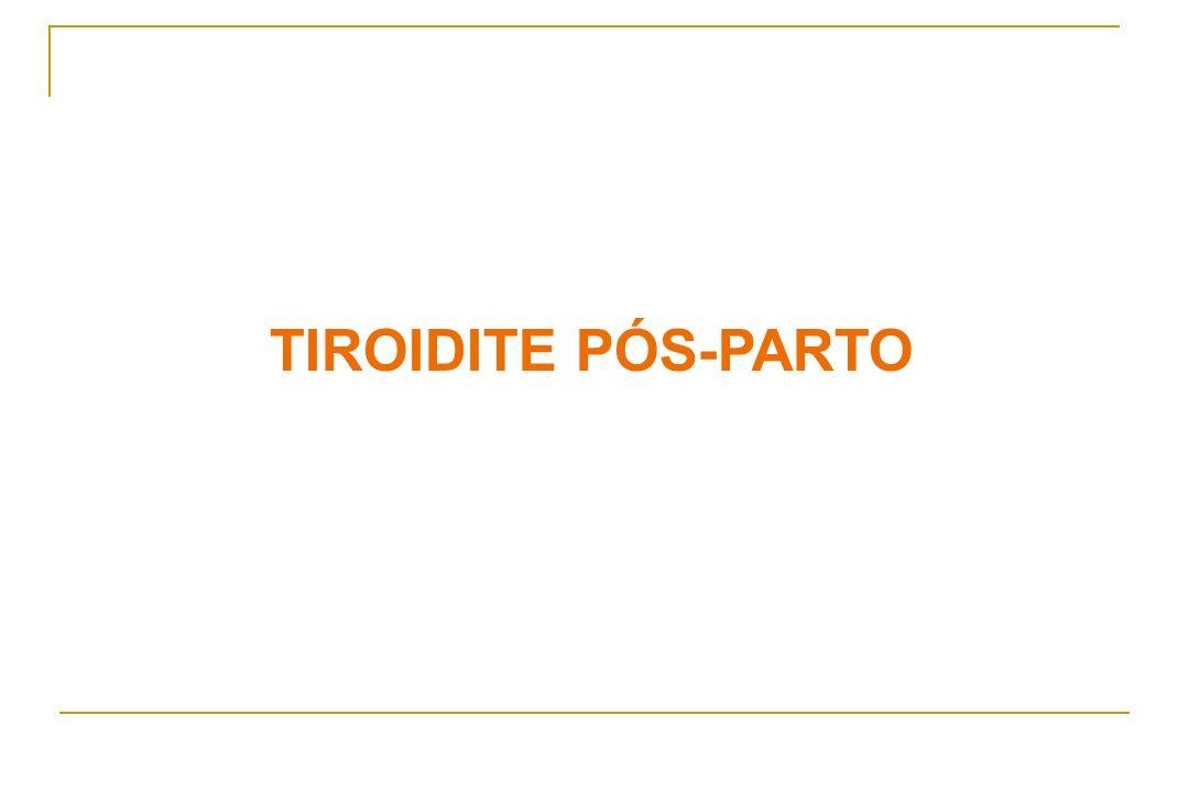 TIROIDITE PÓS-PARTO