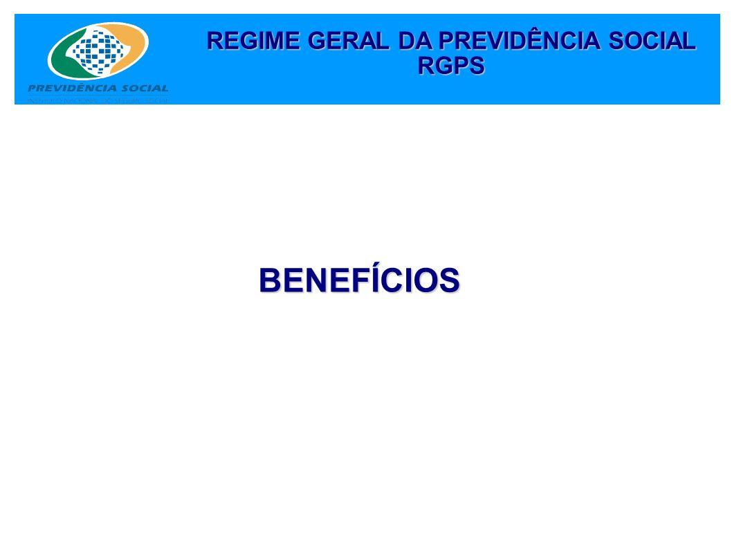 REGIME GERAL DA PREVIDÊNCIA SOCIAL RGPS