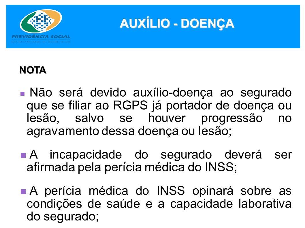 AUXÍLIO - DOENÇA NOTA.