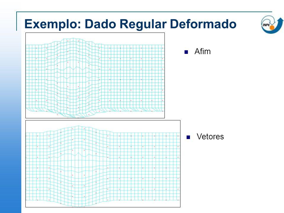 Exemplo: Dado Regular Deformado