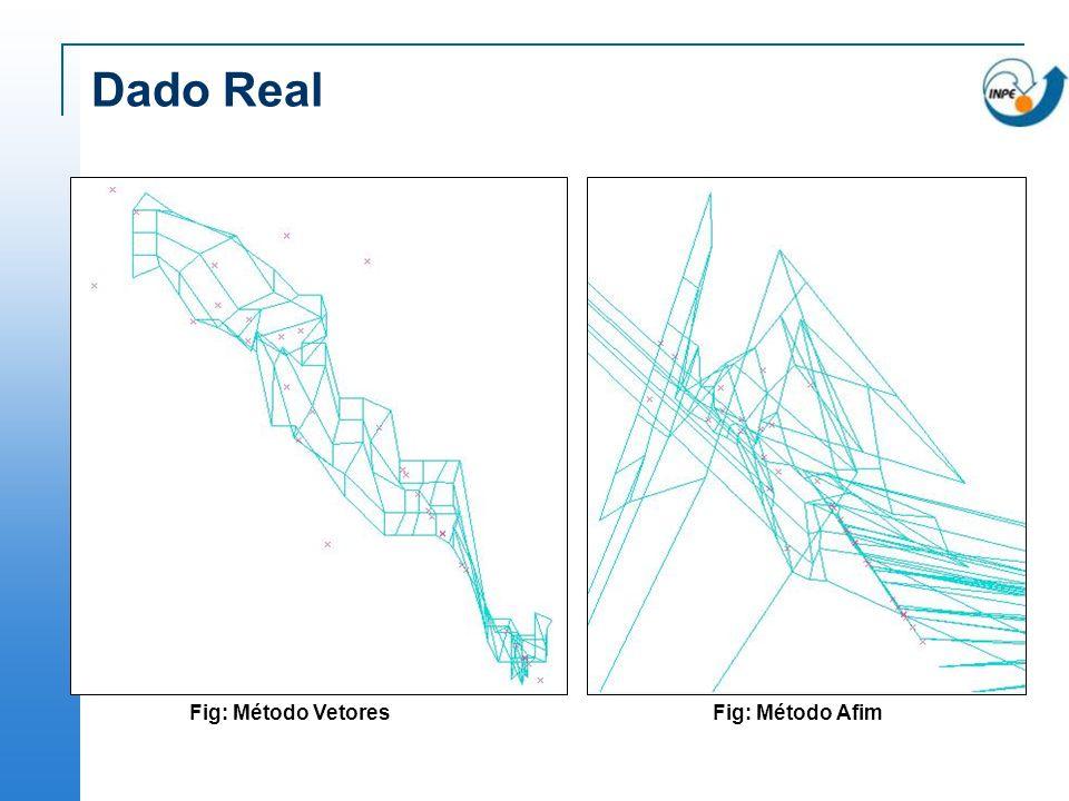 Dado Real Fig: Método Vetores Fig: Método Afim