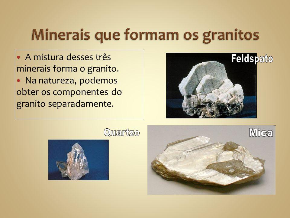 Minerais que formam os granitos