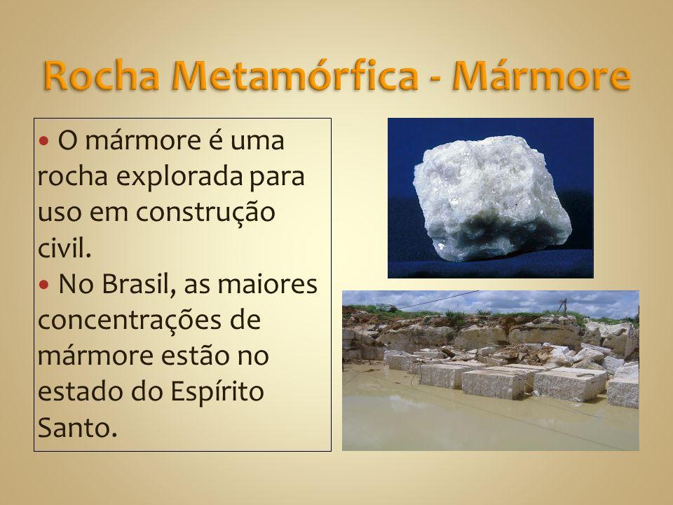 Rocha Metamórfica - Mármore