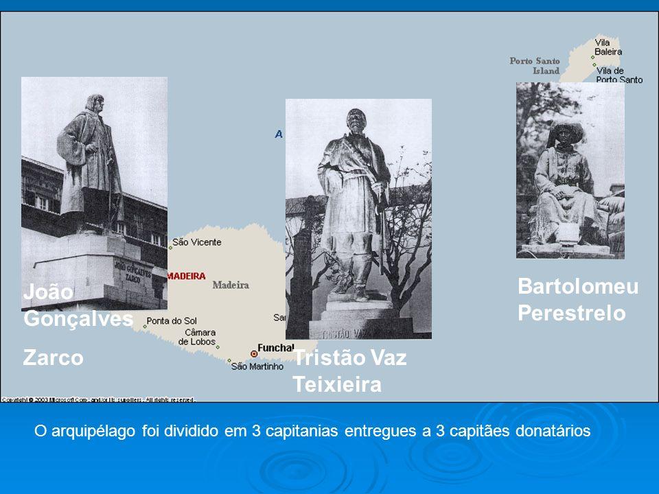 Bartolomeu Perestrelo João Gonçalves Zarco