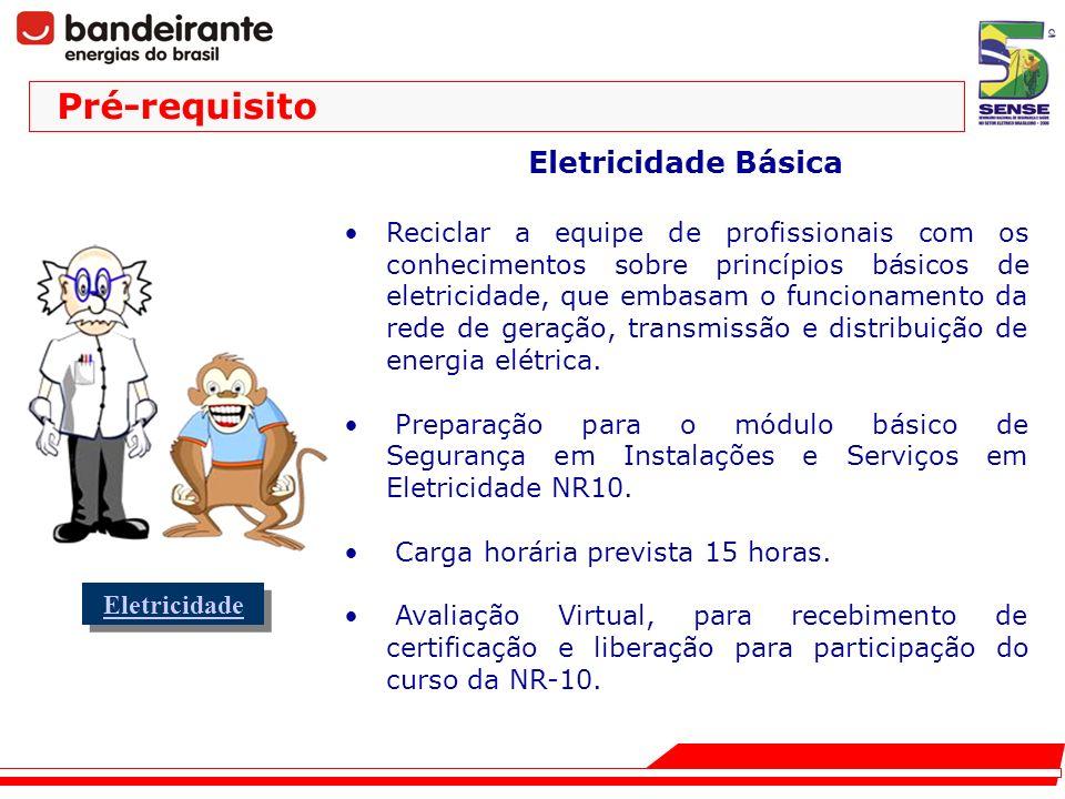 Pré-requisito Eletricidade Básica