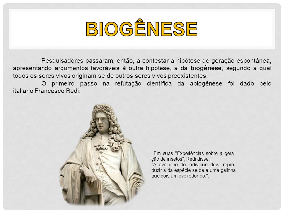 biogênese