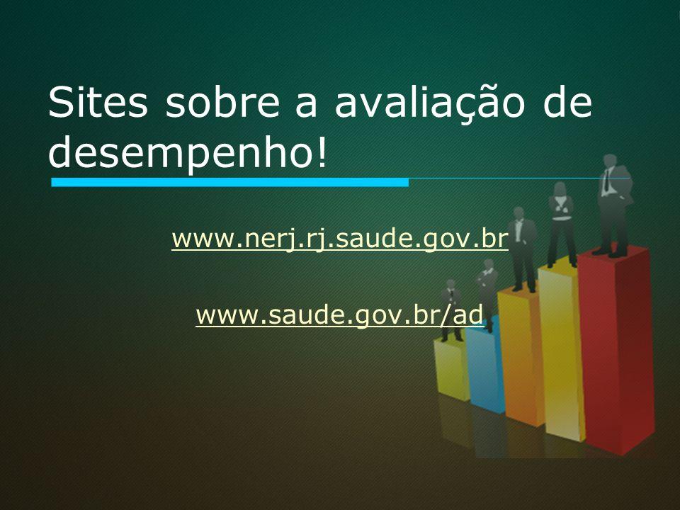 Sites sobre a avaliação de desempenho!