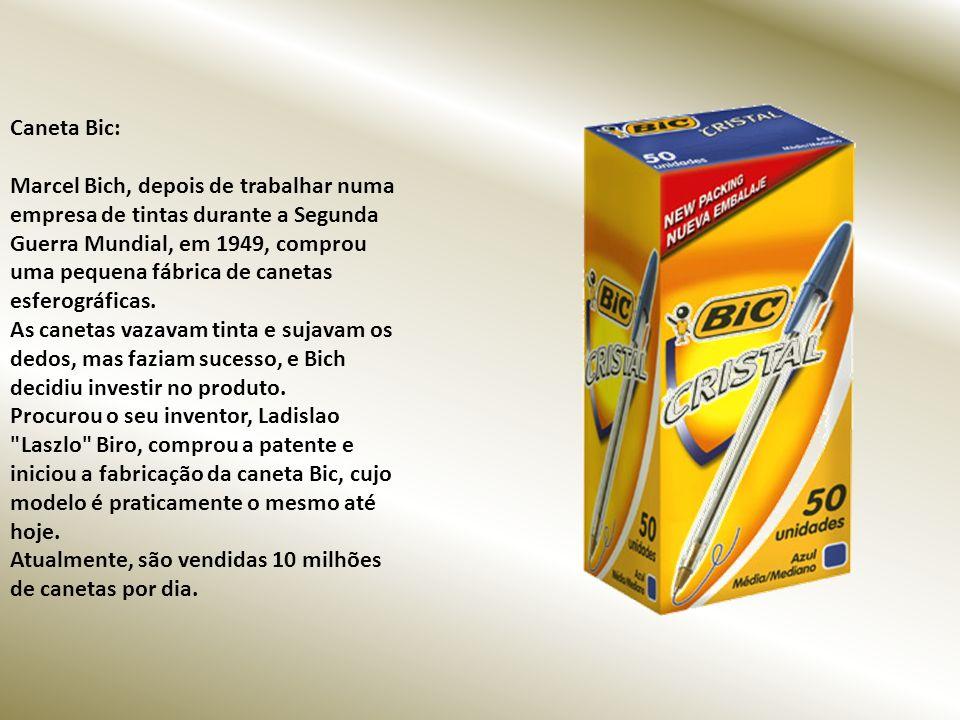 Caneta Bic: