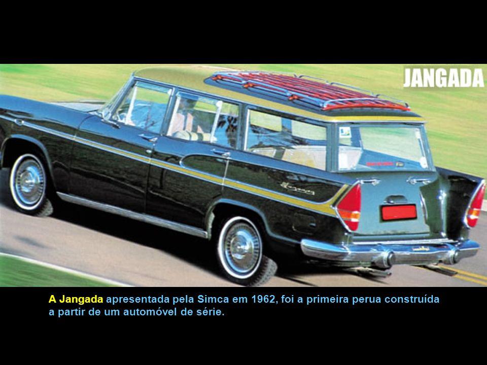 A Jangada apresentada pela Simca em 1962, foi a primeira perua construída