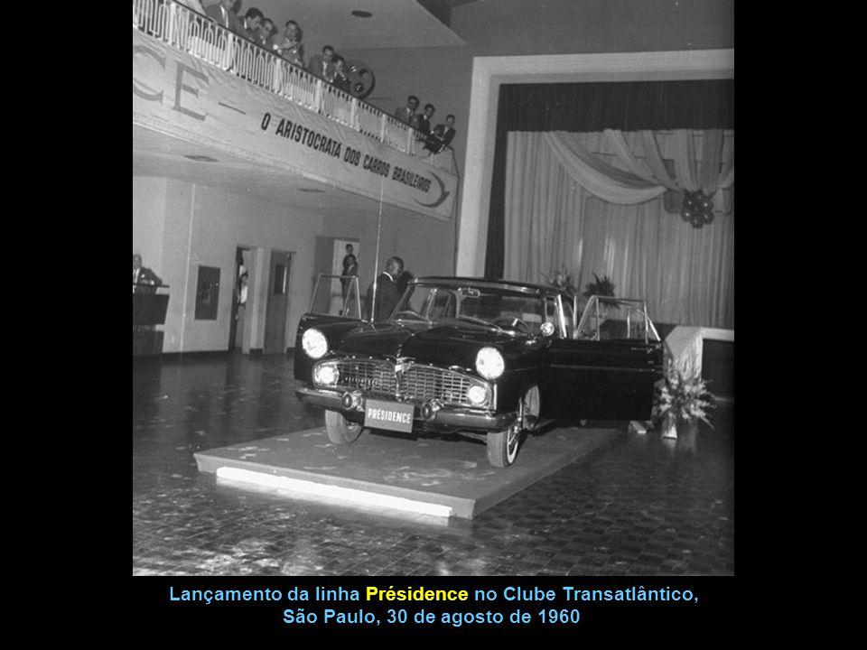 Lançamento da linha Présidence no Clube Transatlântico,