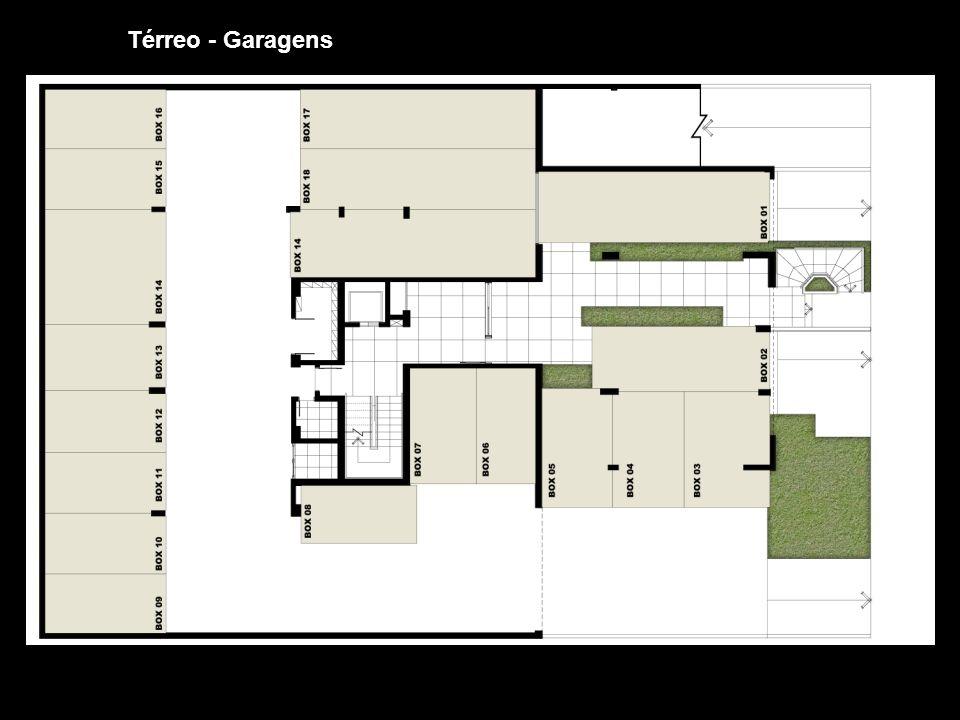 Térreo - Garagens