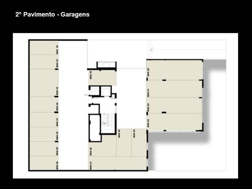 2° Pavimento - Garagens