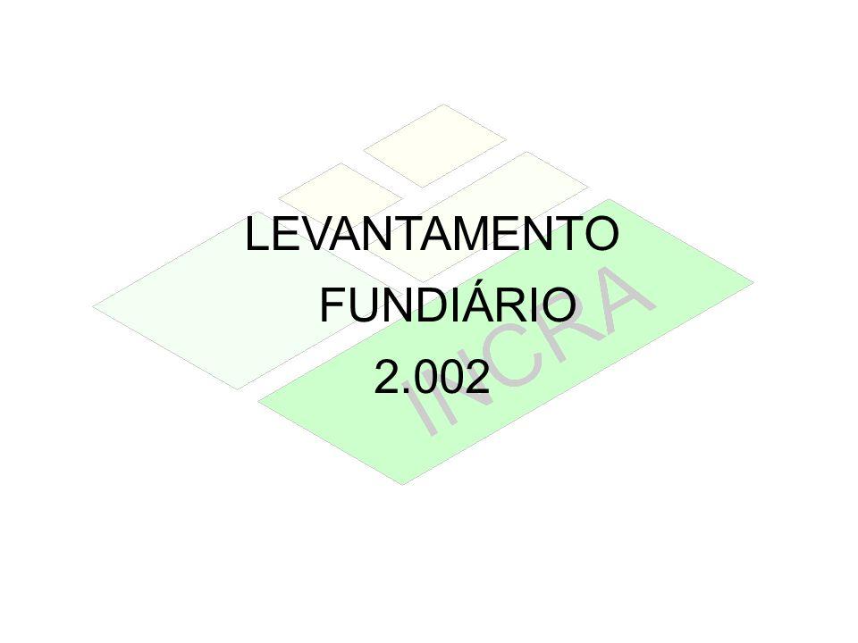 LEVANTAMENTO FUNDIÁRIO