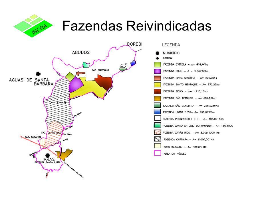 Fazendas Reivindicadas