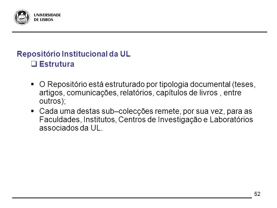 Repositório Institucional da UL