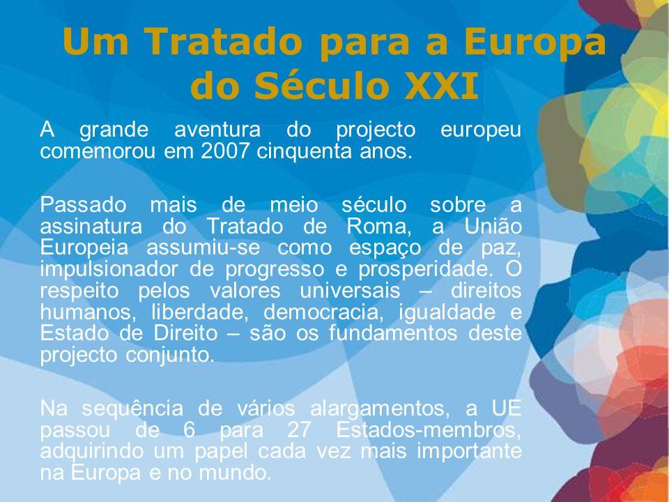 Um Tratado para a Europa do Século XXI
