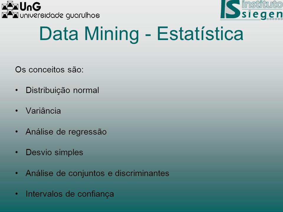 Data Mining - Estatística