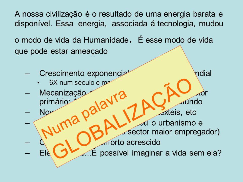 Numa palavra GLOBALIZAÇÃO