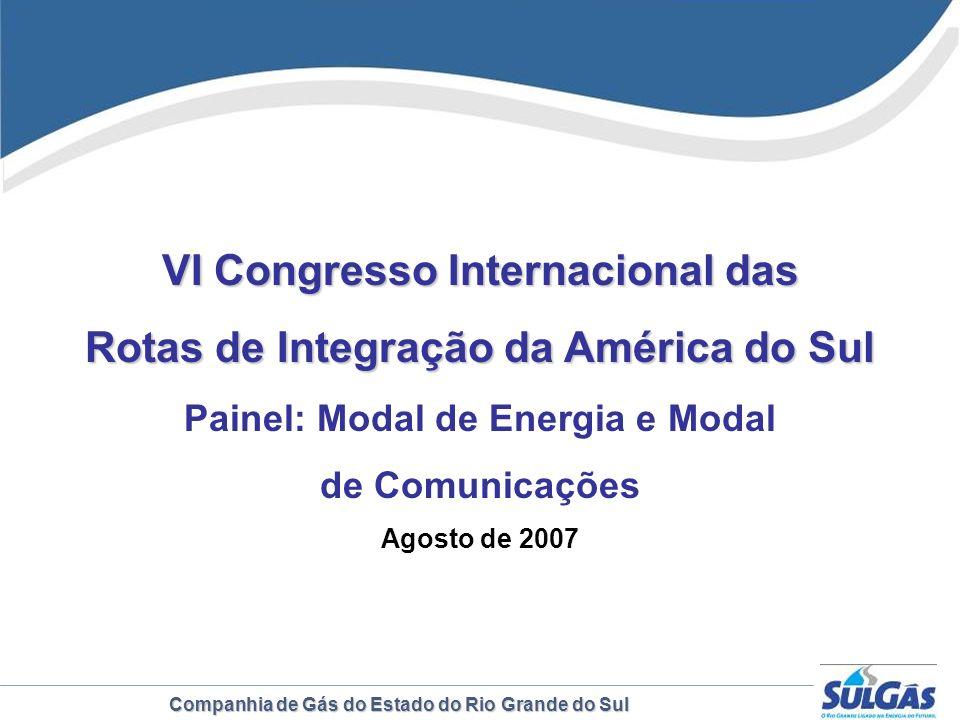 VI Congresso Internacional das Rotas de Integração da América do Sul