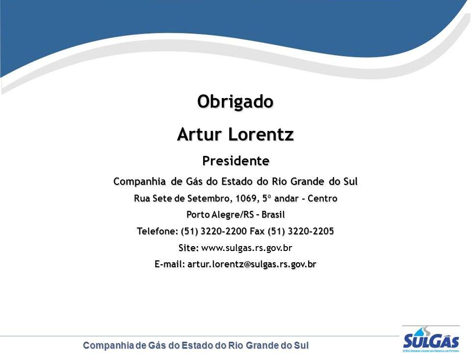 Obrigado Artur Lorentz