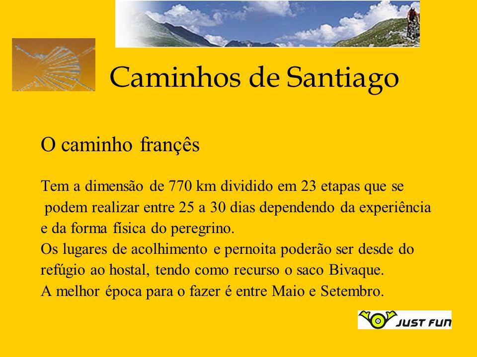 Caminhos de Santiago O caminho françês