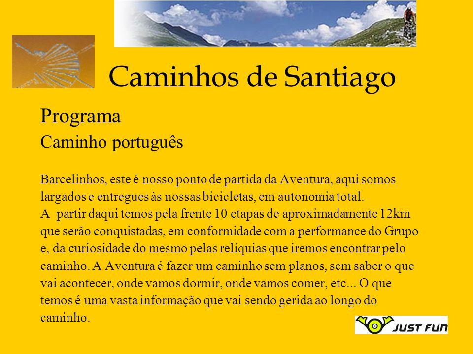 Caminhos de Santiago Programa Caminho português