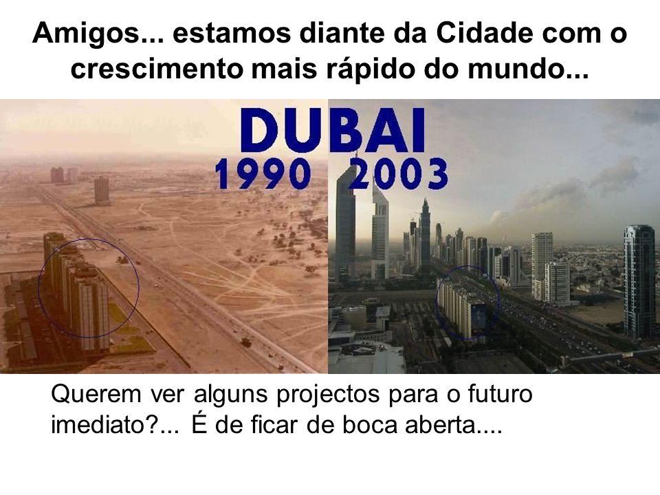 Amigos... estamos diante da Cidade com o crescimento mais rápido do mundo...