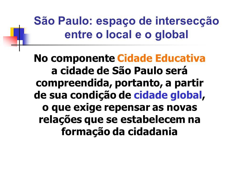 São Paulo: espaço de intersecção entre o local e o global