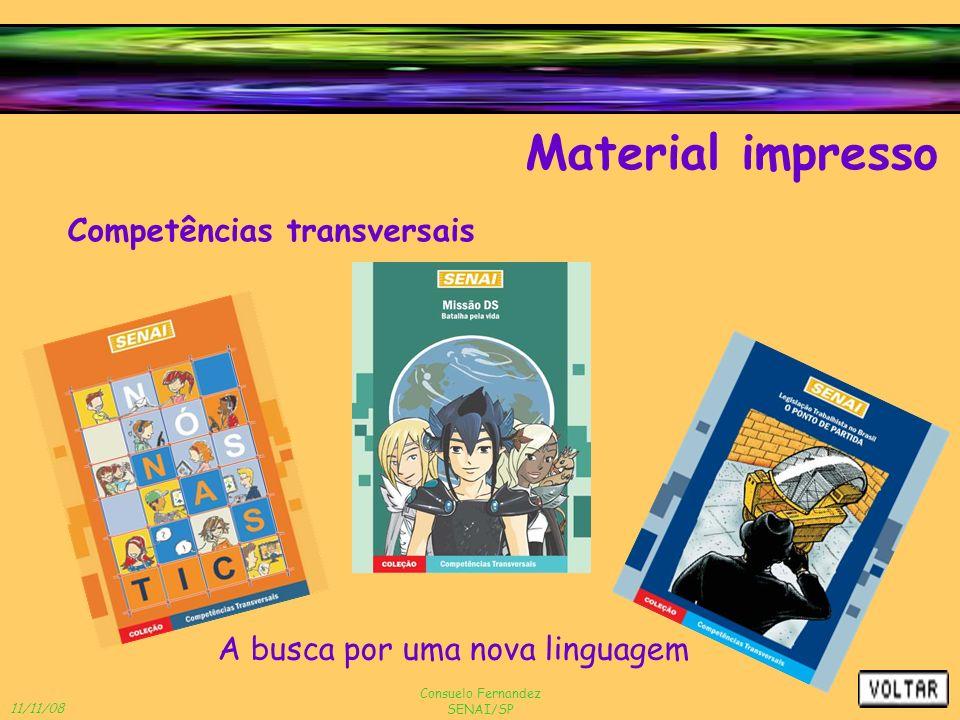 Material impresso Competências transversais