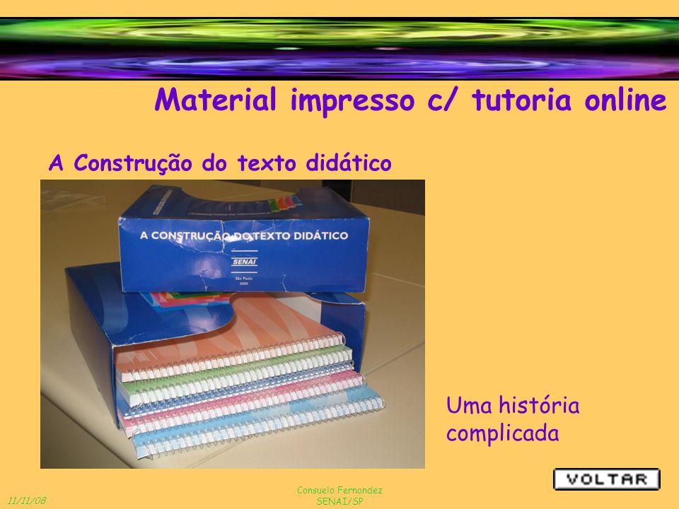 Material impresso c/ tutoria online