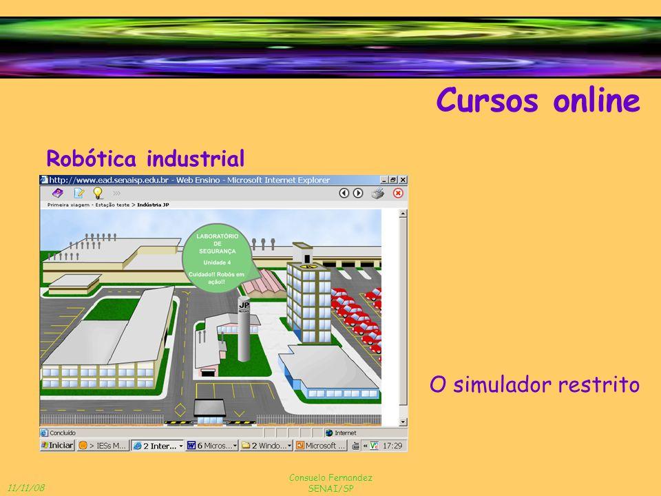 Cursos online Robótica industrial O simulador restrito