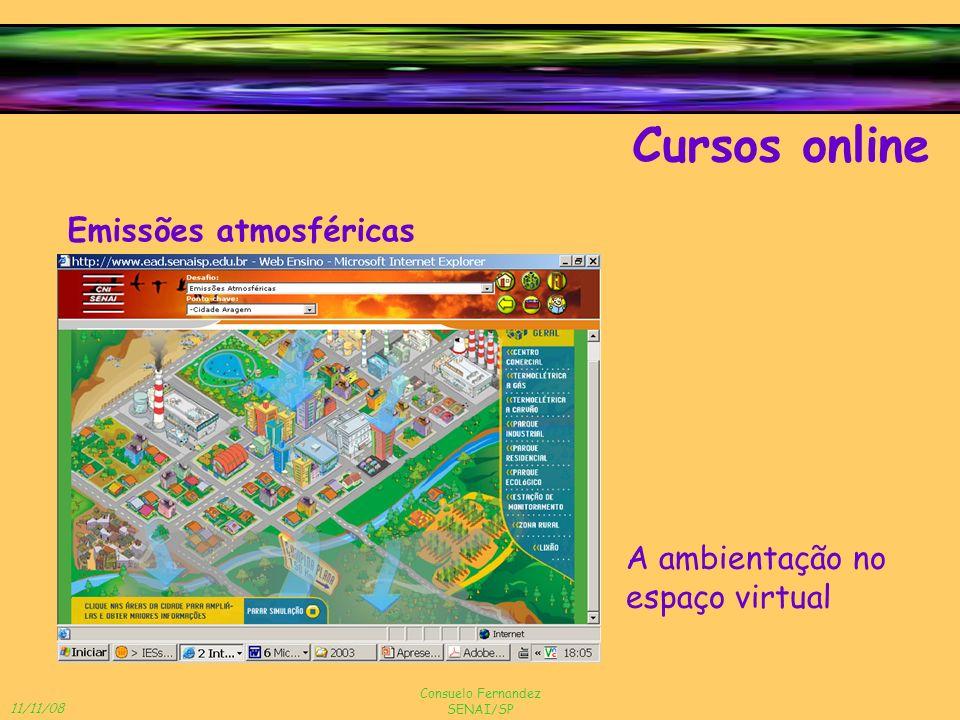 Cursos online Emissões atmosféricas A ambientação no espaço virtual