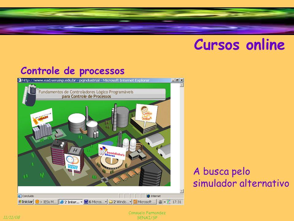 Cursos online Controle de processos A busca pelo simulador alternativo